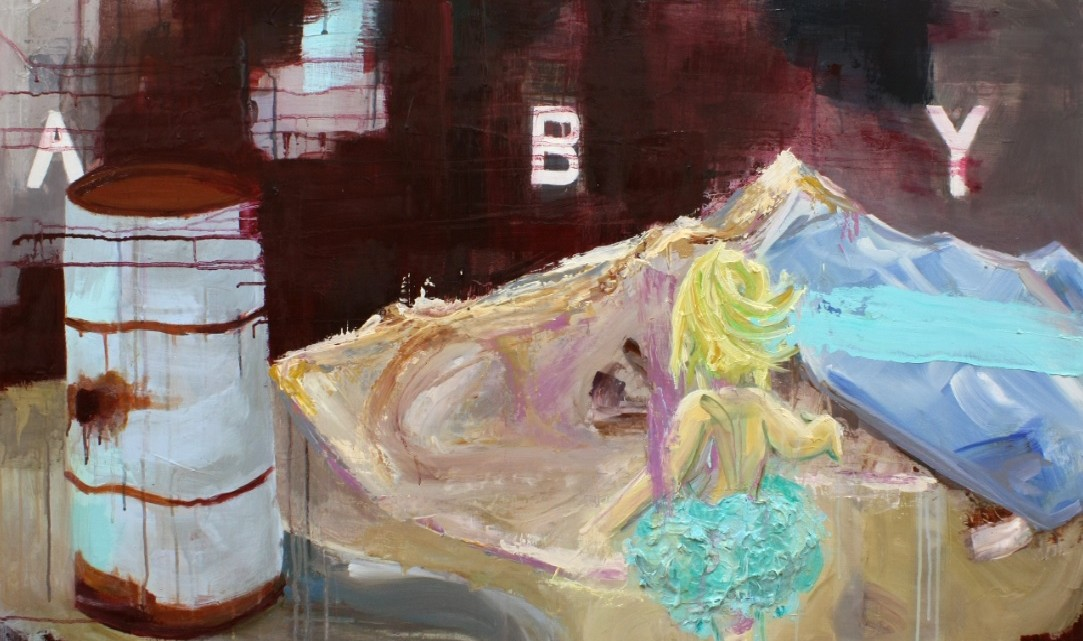 Paintings by BFA student Rebecca Tyler will be on display at Slocumb Galleries until Mar. 25. (Photograph Courtesy of rebeccatyler.godaddysites.com)